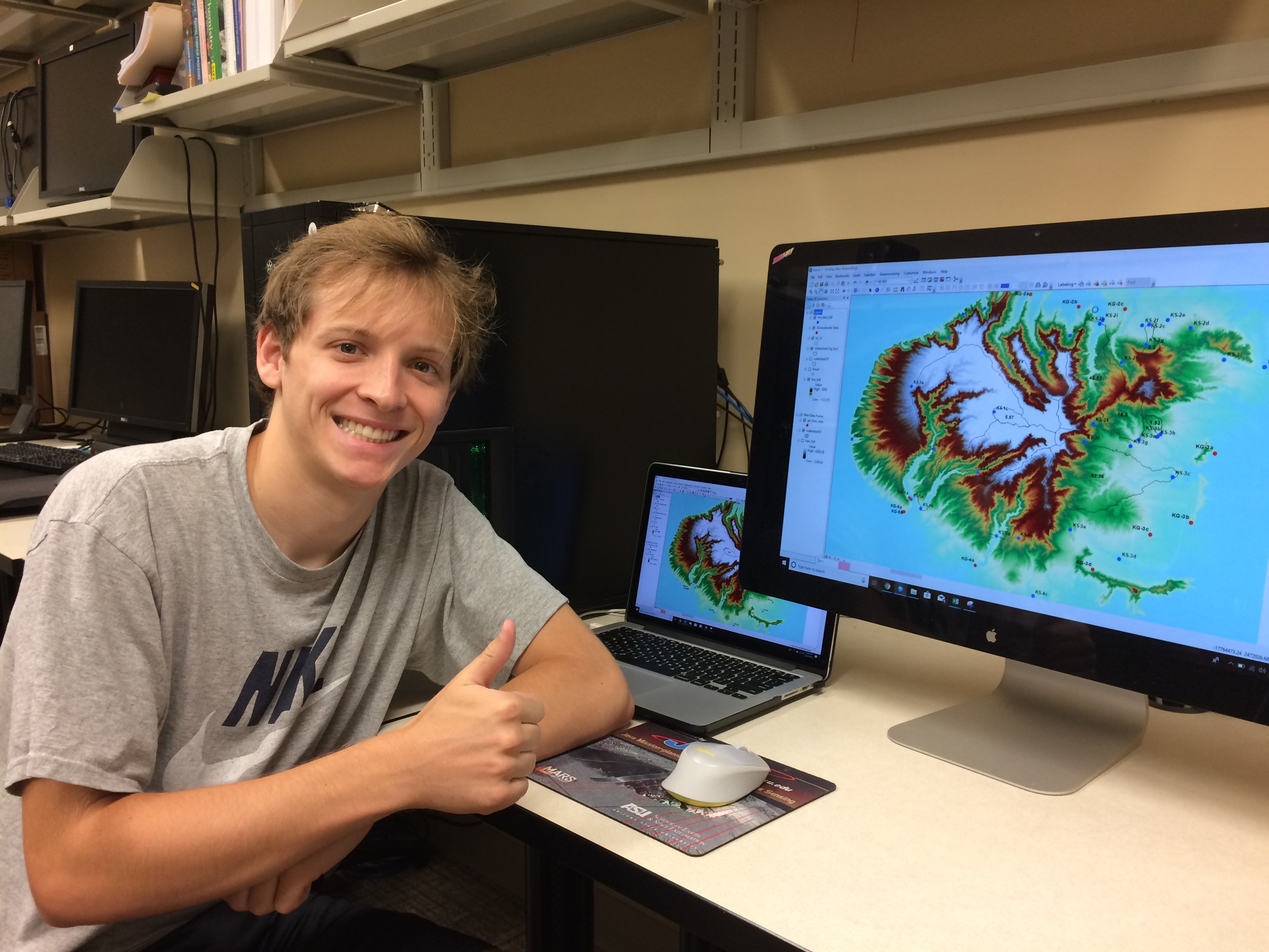 Warren Ehrenfried - Undergraduate Researcher